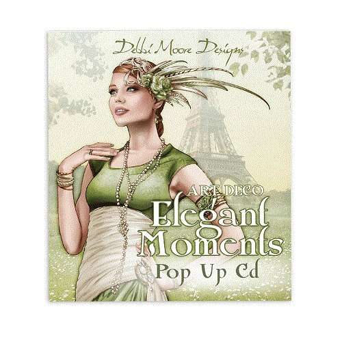 Debbi Moore Art Deco Elegant Moments Pop Up CD Rom x 1 (322749) from Jackdaw Express