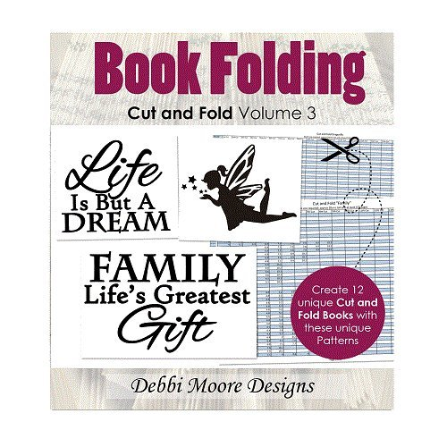 Debbi Moore Book Folding Cut & Fold Volume 3 Create & Craft Special CD (326228) from Debbi Moore
