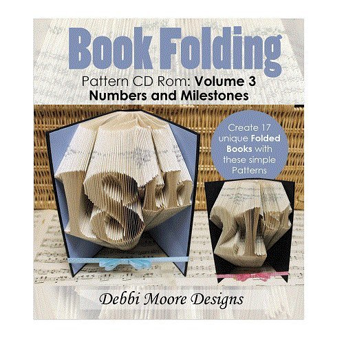 Debbi Moore Book Folding Pattern Volume 3 CD Rom Numbers & Milestones (323425) from Debbi Moore Designs