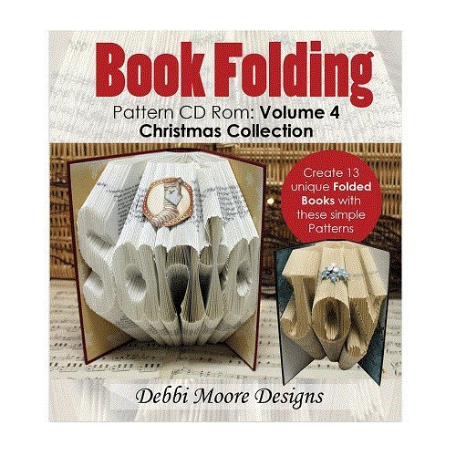 Debbi Moore Book Folding Pattern Volume 4 CD Rom Christmas Collection (323432) from Debbi Moore Designs
