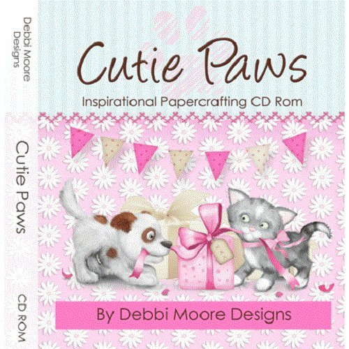 Debbi Moore Cutie Paws Inspirational Papercrafting CD Rom (320356) from Jackdaw Express