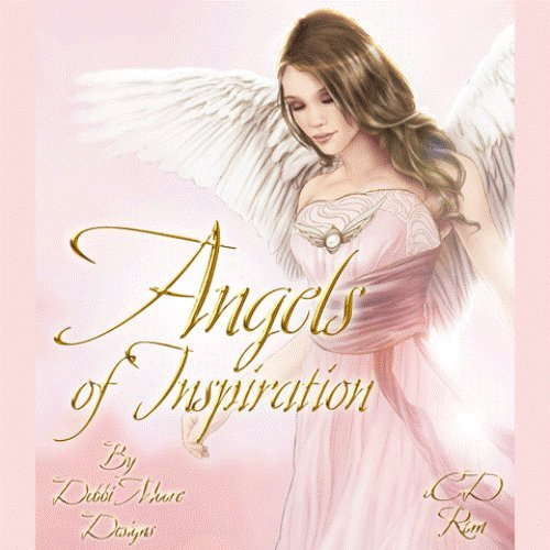 Debbi Moore Designs Angels of Inspiration CD Rom (295064) from Jackdaw Express