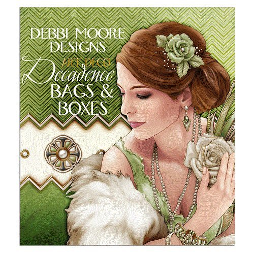 Debbi Moore Designs Art Deco Decadence Bags & Boxes CD Rom (325016) from Debbi Moore