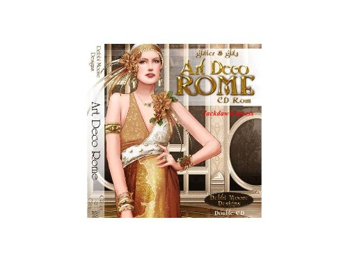 Debbi Moore Designs Art Deco Rome Glitter & Glitz Double CD Rom (292292) from Jackdaw Express