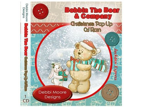 Debbi Moore Designs Bobbin The Bear & Company Christmas Pop UP CD Rom (293893) from Jackdaw Express