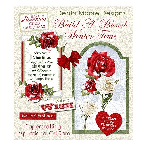Debbi Moore Designs Build A Bunch Winter Time CD Rom (324484) from Debbi Moore