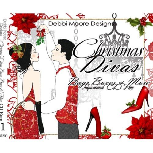 Debbi Moore Designs Christmas Divas Bags & Boxes Inspirational CD Rom 297624 from Jackdaw Express
