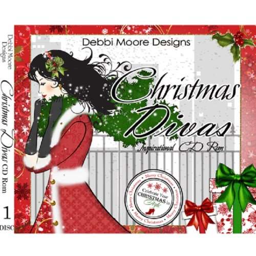 Debbi Moore Designs Christmas Divas Inspirational Papercrafting CD Rom (297600) from Jackdaw Express
