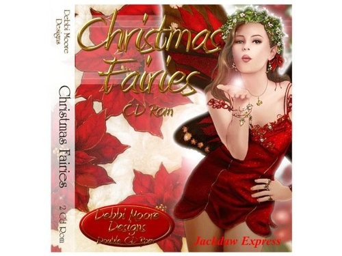 Debbi Moore Designs Christmas Fairies Double CD Rom (293848) from Jackdaw Express