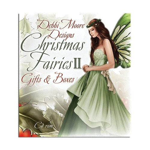 Debbi Moore Designs Christmas Fairies II Gifts & Boxes CD Rom (326037) from Debbi Moore Designs