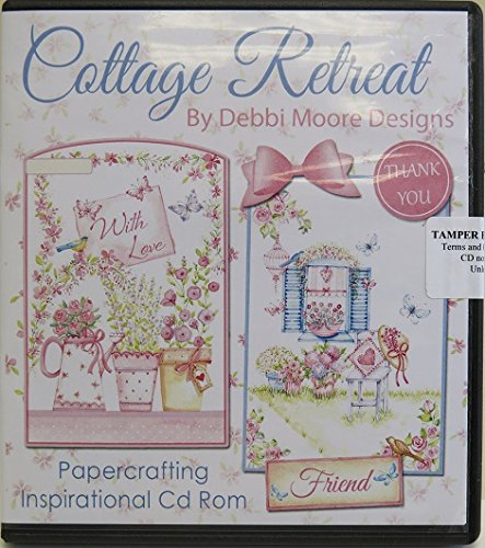 Debbi Moore Designs Cottage Retreat Papercrafting CD Rom (324781) from Debbi Moore