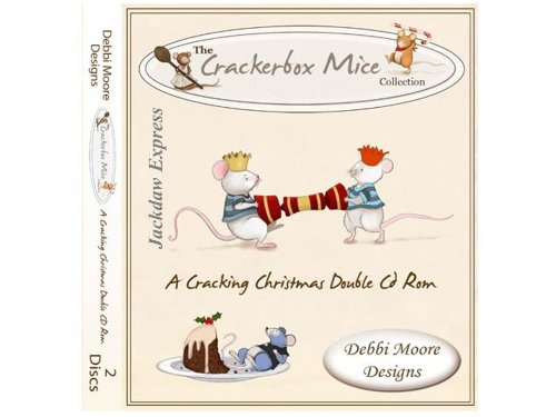 Debbi Moore Designs Crackerbox Mice Cracking Christmas Double CD Rom (294098) from Jackdaw Express