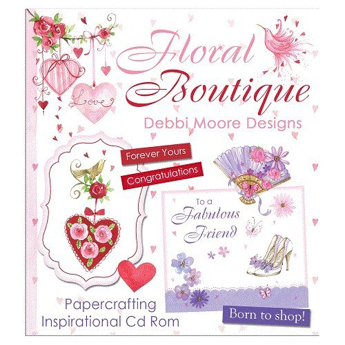 Debbi Moore Designs Floral Boutique CD Rom (324767) from Debbi Moore