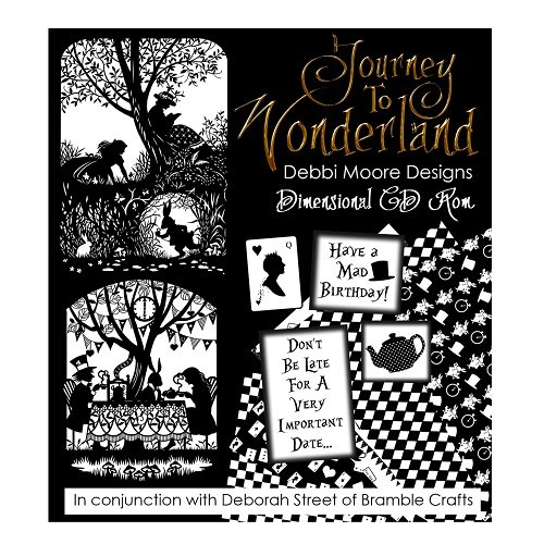 Debbi Moore Designs Journey to Wonderland Dimensional CD Rom 324309 from Debbi Moore
