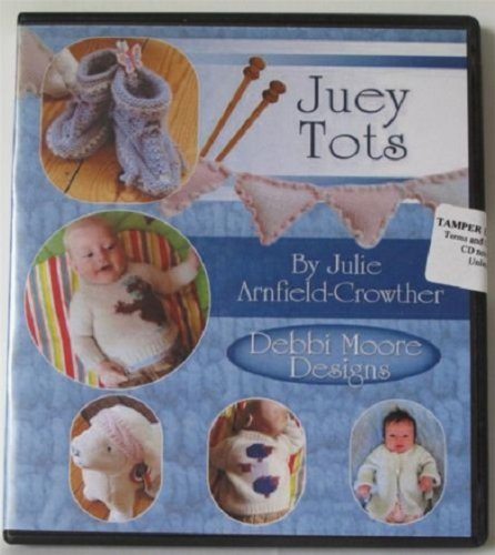 Debbi Moore Designs Juey Tots Knitting Patterns CD Rom (295101) from Jackdaw Express
