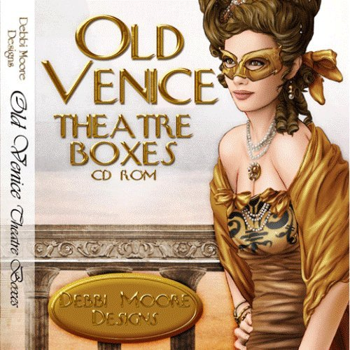 Debbi Moore Designs Old Venice Theatre Boxes CD Rom (295453) from Jackdaw Express