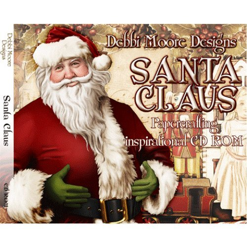 Debbi Moore Designs Santa Claus Papercrafting Inspirational CD Rom (297006) from Jackdaw Express