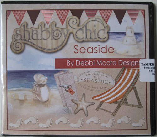 Debbi Moore Designs Shabby Chic Seaside CD Rom (296818) from Jackdaw Express