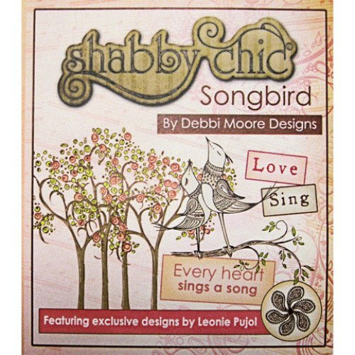 Debbi Moore Designs Shabby Chic Songbird CD Rom (295422) from Jackdaw Express