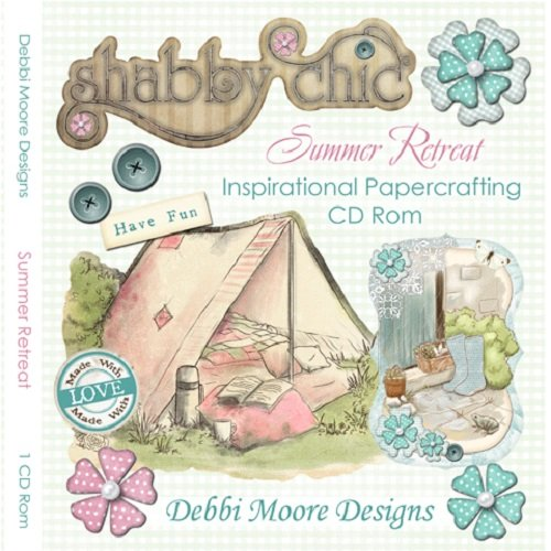 Debbi Moore Designs Shabby Chic Summer Retreat Inspirational CD Rom (321360) from Jackdaw Express