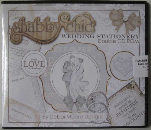 Debbi Moore Designs Shabby Chic Wedding Stationery Double CD Rom (296764) from Jackdaw Express