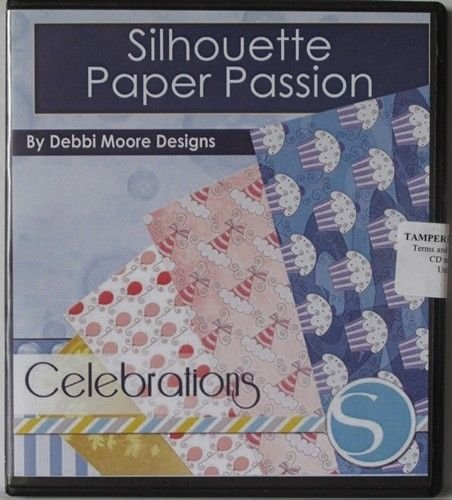 Debbi Moore Designs Silhouette Paper Passion Celebrations CD Rom (294753) from Unknown