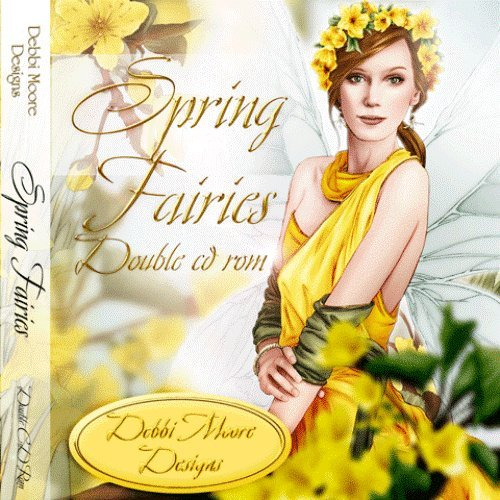 Debbi Moore Designs Spring Fairies Double CD Rom (295088) from Jackdaw Express