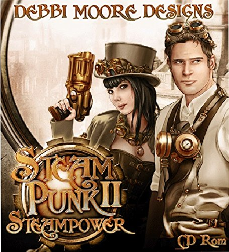 Debbi Moore Designs Steampunk 2 Steampower CD Rom (322374) from Jackdaw Express
