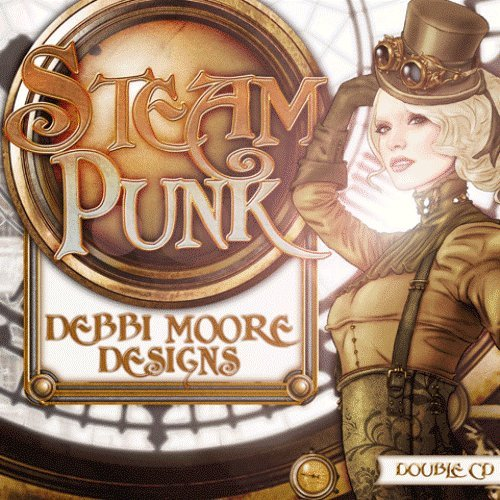 Debbi Moore Designs Steampunk Double CD Rom (296238) from Jackdaw Express