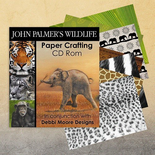 Debbi Moore John Palmer's Wildlife Paper Crafting CD Rom (323968) from Jackdaw Express