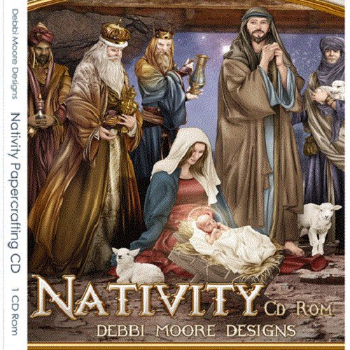 Debbi Moore Nativity Papercrafting CD Rom (321445) from Jackdaw Express