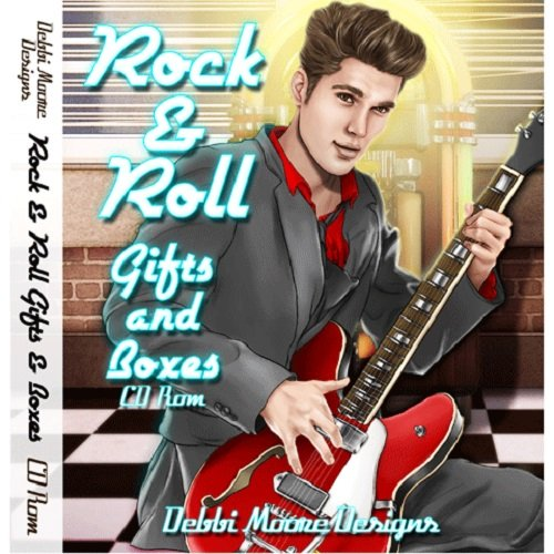 Debbi Moore Rock & Roll Gifts & Boxes CD Rom 320660 from Jackdaw Express