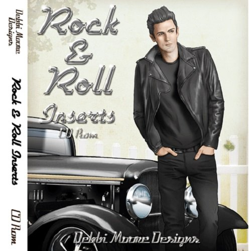 Debbi Moore Rock & Roll Inserts CD Rom 320677 from Jackdaw Express