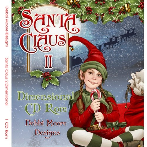 Debbi Moore Santa Claus II Dimensional CD Rom (321179) from Jackdaw Express