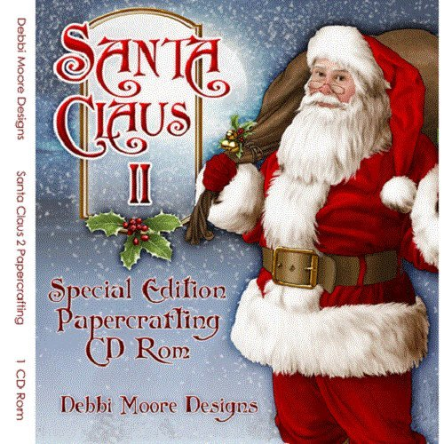 Debbi Moore Santa Claus II Special Edition Papercrafting CD Rom (321162) from Jackdaw Express