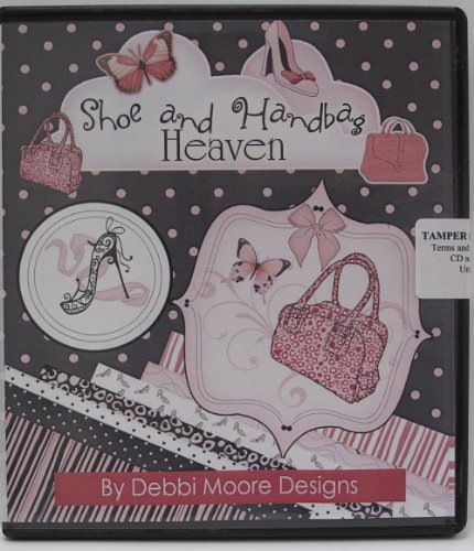 Debbi Moore Shoe and Handbag Heaven CD Rom 320196 from Jackdaw Express