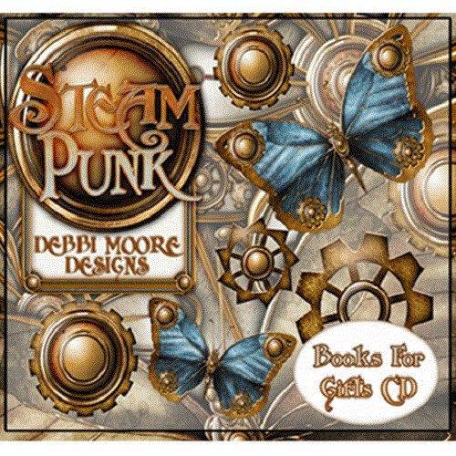 Debbi Moore Steampunk Books For Gifts CD Rom (296542) from Jackdaw Express