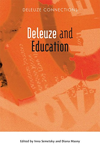 Deleuze and Education (Deleuze Connections) from Edinburgh University Press