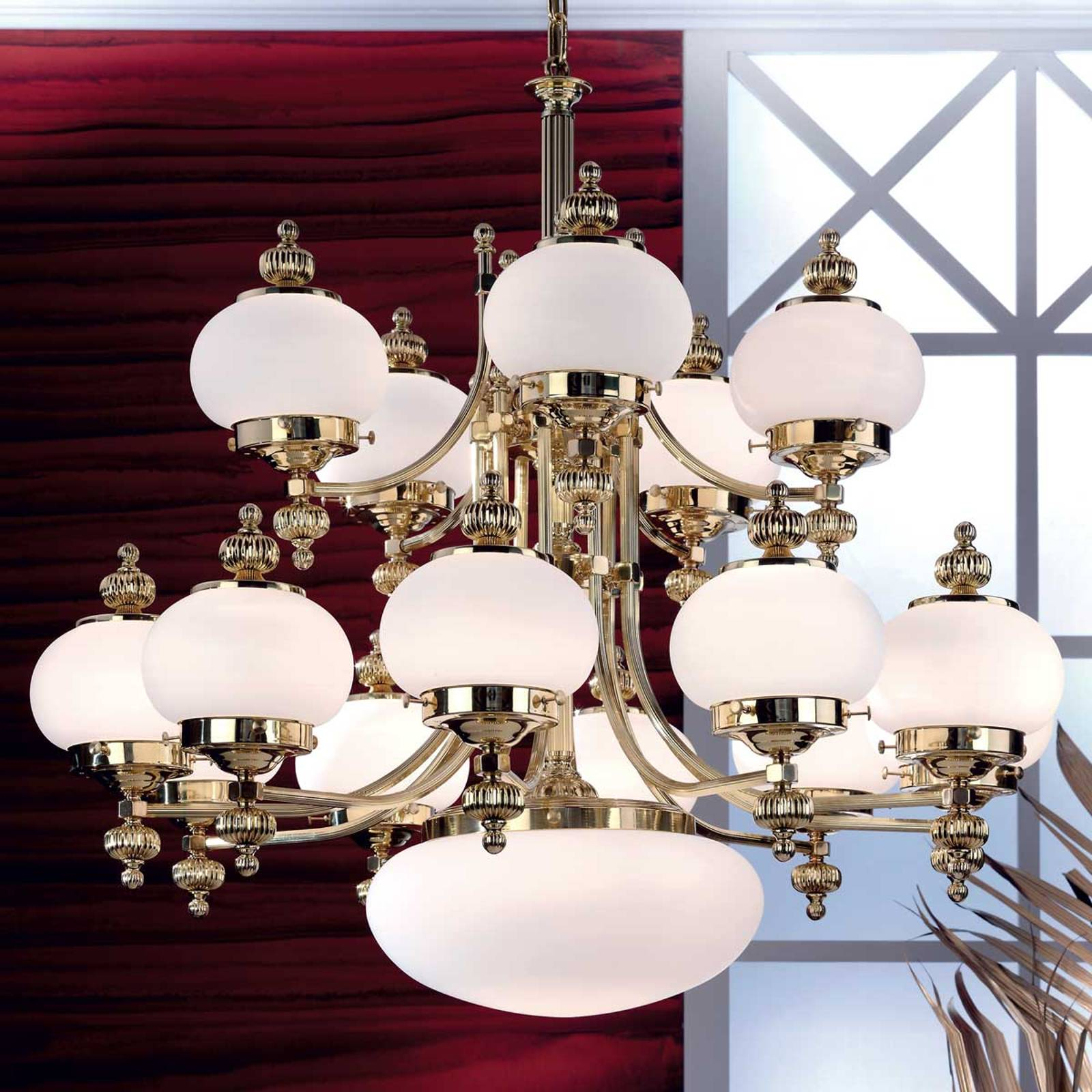 Delia Chandelier Impressive Diameter 100 cm from Orion
