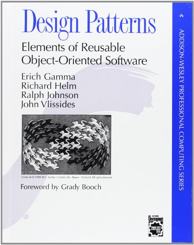 Design patterns : elements of reusable object-oriented software from Erich Gamma
