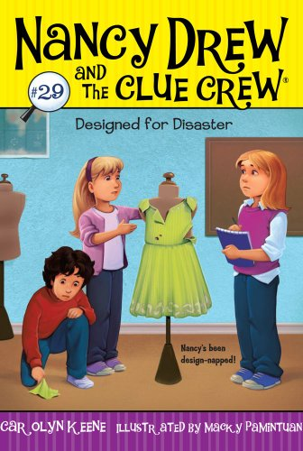 Designed for Disaster: 29 (Nancy Drew & the Clue Crew (Quality)) from Aladdin Paperbacks