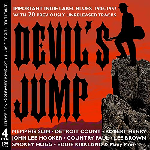 Devil's Jump: Indie Label Blues 1946 - 1957 from JSP