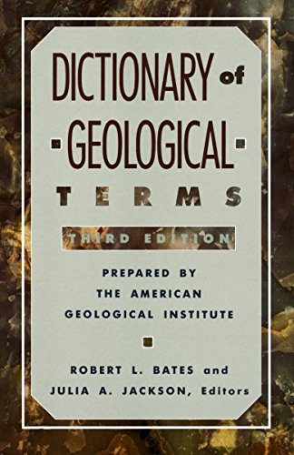 Dictionary of Geological Terms (Rocks, Minerals and Gemstones) from Anchor Books