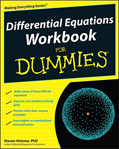Differential Equations Workbook For Dummies from For Dummies