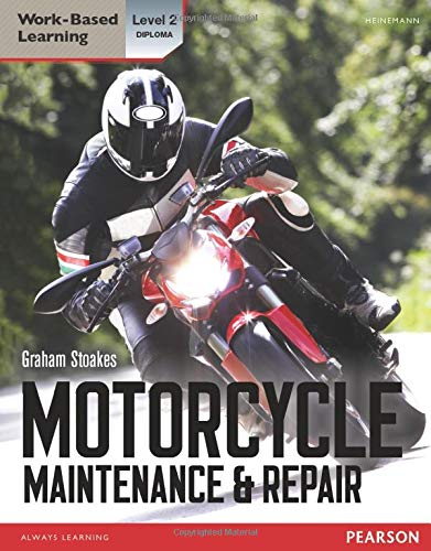 Level 2 Diploma Motorcycle Maintenance & Repair Candidate Handbook (Light Vehicle Technology) from Heinemann