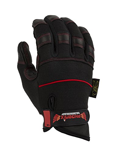 Dirty Rigger Phoenix Heat Resistant Glove, Medium - Black from Dirty Rigger