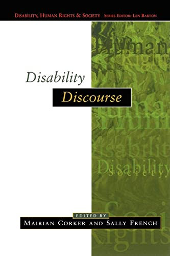 Disability Discourse (Disability, Human Rights & Society) from Open University Press