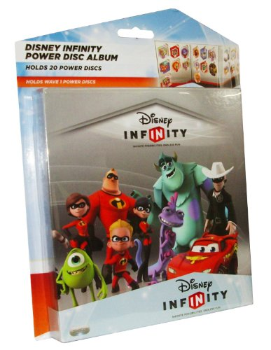 Disney Infinity Power Disk Album - Holds 20 (PS3/Xbox 360, Nintendo Wii U/Wii/3DS) from Disney
