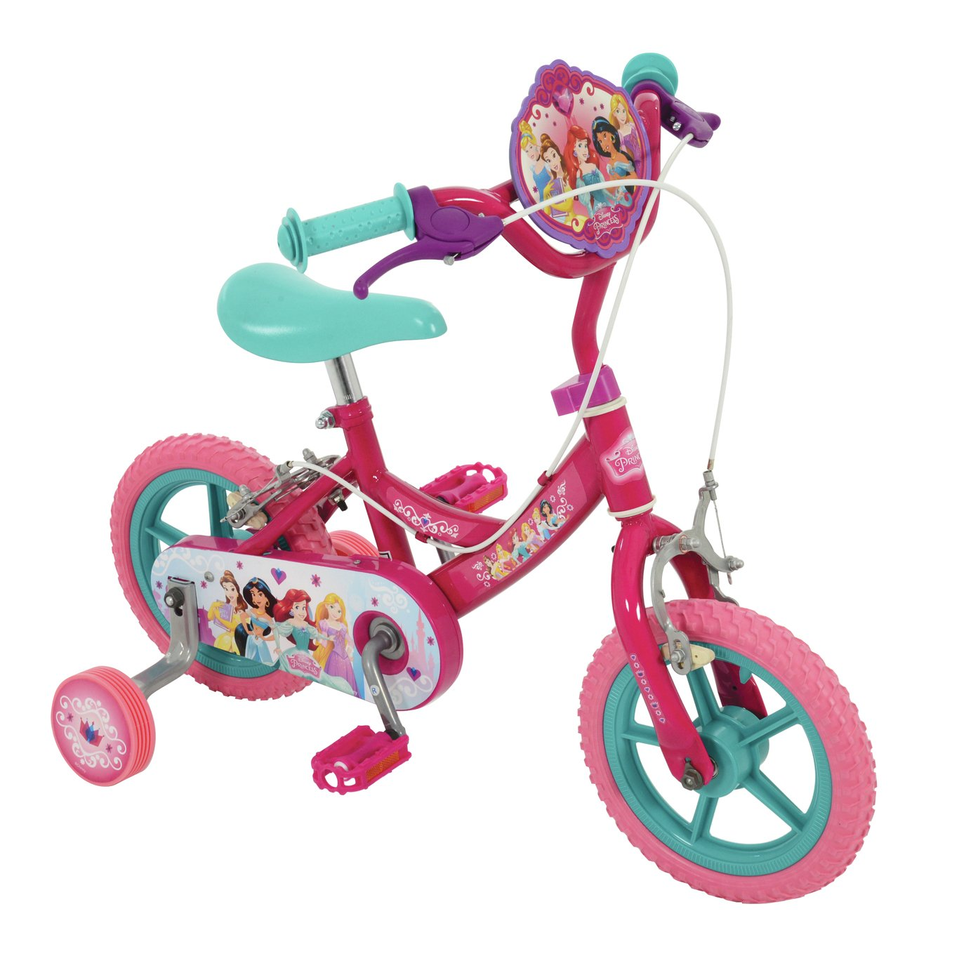 Disney Princess 12 Inch Kids Bike - Purple from Disney Princess
