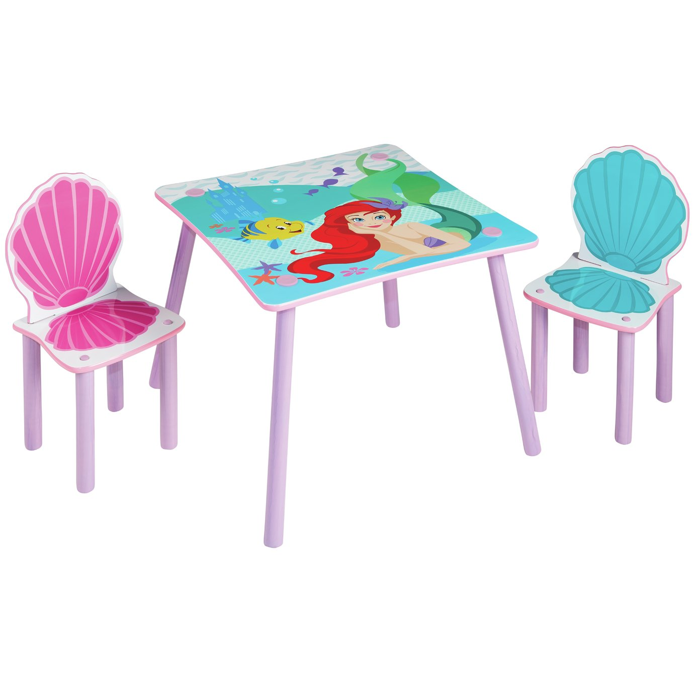 Disney Princess Table and 2 Chairs from Disney Princess